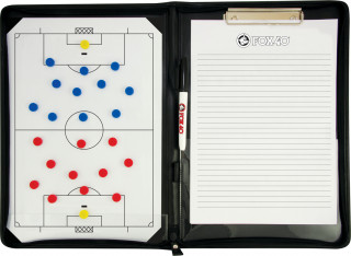 Taktikmappe Fussball mit Reissverschluss