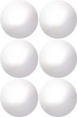 Tischtennis-Bälle Single Circle Weiss