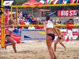 Beach-Volleyball Turniernetz 9.5 x 1 m