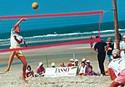 Beach-Volleyballnetz 9.5 x 1 m