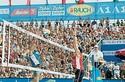 Turniernetz für Beachvolleyball 8.5 x 1 m