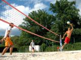 Beach-Volleyball Trainingsnetz 9.5 x 1 m