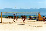 Beach-Volleyballnetz 8.5 x 1 m