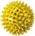 Noppenball, Durchmesser 8 cm, Gelb