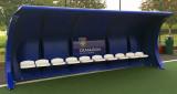 Spielerkabine Pro, 8 Sitze, 2 Stück