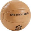 Medizinball, Leder, 4 kg