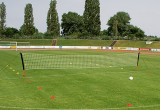 Outdoor-Fussballtennis-Set