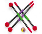 Rollbrett-Paddel mit Ball