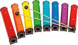 8 farbige Round-Sound Tubes