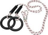 Turnringe mit Seilen